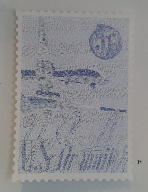 U S Airmail 5 cents